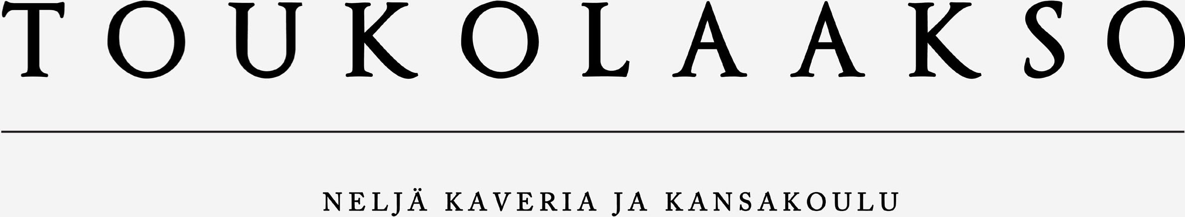 Toukolaakso - Neljä kaveria ja kansakoulu