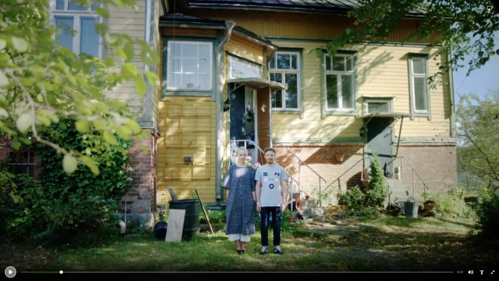 Toukolaakso Saana ja Olli Turku Finland SVT Kobra